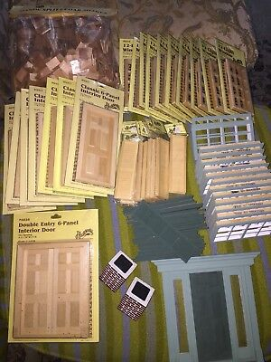 Lot Of Dollhouse Windows Shutters Doors 146 50 Picclick