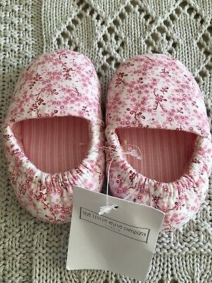 the little white company baby girl Pram Shoes