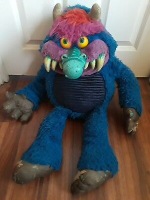 My Pet Monster 1986 Amtoy Vintage Toy Doll 1980s Plush Stuffed
