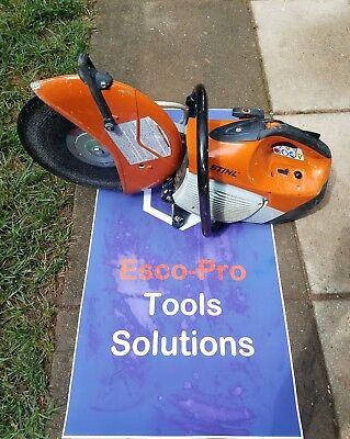 Stihl Ts 420 Gas Concrete/re-Bar Cut-Off Saw, (Free Shipping) Great Condition.