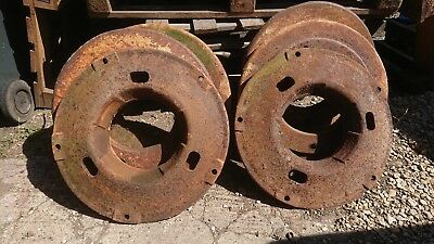 Fordson Major Wheel Weights