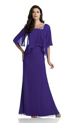 Mother of the Bride/Groom Floor Length Dress, Formal Occasions, Party Event - 10