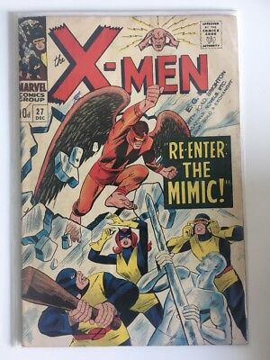 Uncanny X-Men #27 ( Vol. 1 ) Silver Age, Rare 1963 Marvel Comics