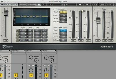 Waves AudioTrack Channel Strip AAX VST AU License eDelivery