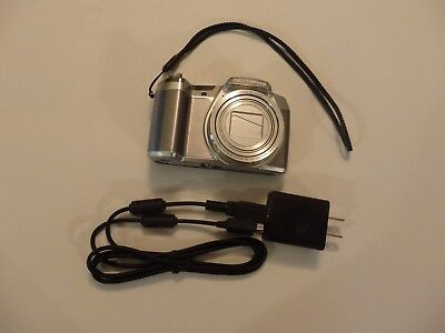 Olympus SZ Series SZ-16 16.0MP Digital Camera - Silver