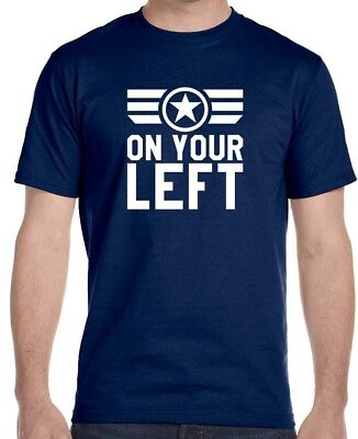 """Captain-America """"On-Your-Left""""  T-Shirt"""