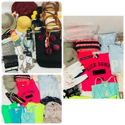 Victorias Secret Pink Vs Clothing Target Hats Jewelry Totes