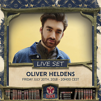 Oliver Heldens - Live @ Tomorrowland 2018 (Belgien) – 20-07-2018 – AUDIO CD