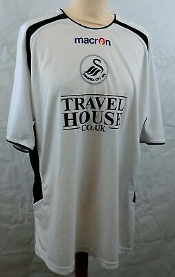 Swansea City FC 2005-2006 Home football shirt Macron size XL (Extra Large)