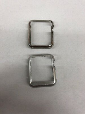Apple Watch Protective Cases 42 MM Snap On Griffin 2 Pk Ultra Thin No Box