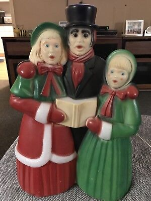 vintage christmas decorations blow mold