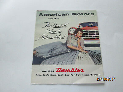 Anerican Motors Presents Newest Idea in Automobiles 1955 Rambler brochure