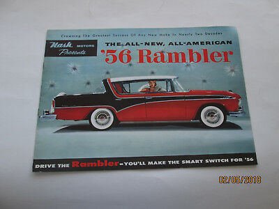 1956 Rambler All-New All-American Make The Smart Switch for '56