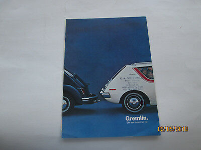 1970 1/2 Gremlin The new American car   American Motors   AMC dealer brochure