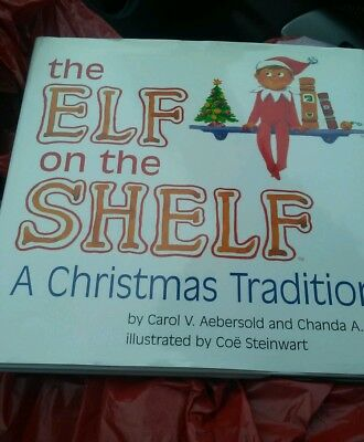 """NEW! """"The Elf on the Shelf A Christmas Tradition"""" Hardback Book  BOOK ONLY"""