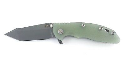 """Hinderer Knives XM-18 3.5"""" Fatty Harpoon Tanto Working Finish Knife S35VN XM 18"""