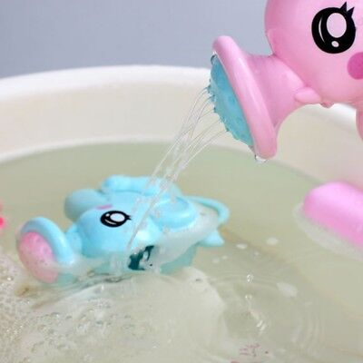 Cute Small Elephant Watering Pot Baby Bath Toy Beach Play Water Sand Tools Toys