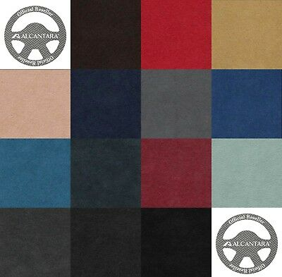 Official Alcantara fabric Pannel 1.42 m x 1 m 1.55 yd X 1.09 yd Wide 14 Colors