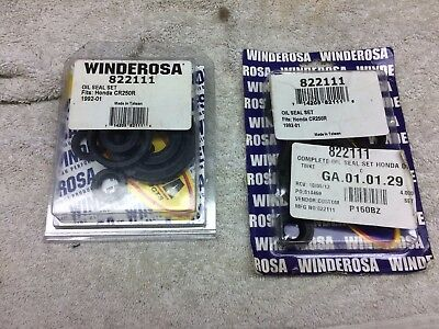 1992 To 2001 Cr 250 Oil Seal Motor Kit