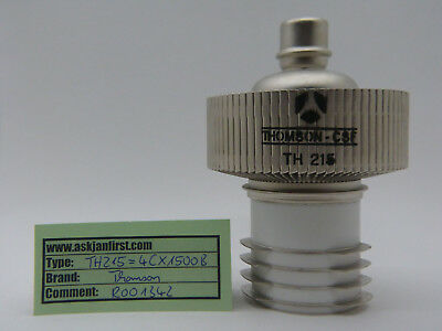 Senderöhre Power tube 4CX1500B  / TH215 Thomson, CSF, France NOS, NIB,
