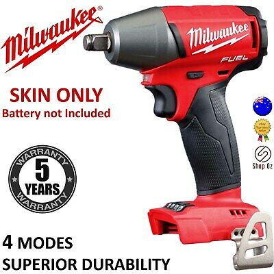 """New MILWAUKEE CORDLESS HIGH TORQUE IMPACT WRENCH 1/2"""" Driver 18V 13MM M18FIWF120"""