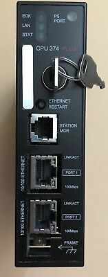 GE Fanuc IC693CPU374-GS 90-30 Series CPU Controller with Ethernet Interface