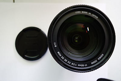 New Sigma 17-50mm f/2.8 EX DC HSM FLD Zoom for Canon 6D Mark II 200D 5D Mark IV