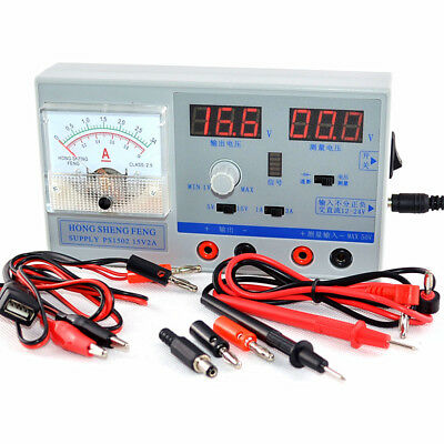 DC Display Mobile Phone Repair Stabilizer Test Regulated Power Supply Voltmeter