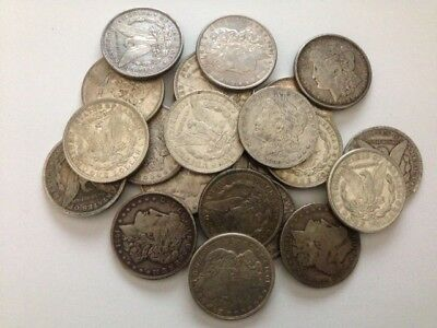 Morgan Dollar Dollars random years 1878-1921