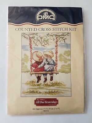 Cross stitch kit - All Our Yesterdays - The Swing K3742  - DMC