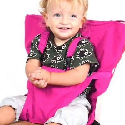 Sack Seat Baby Kids Child Portable Travel Carry Bag High Chair Seat Cover Belt