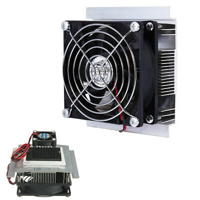 12V 6A 60W Thermoelectric Peltier Semiconductor Refrigeration Cooling System Kit