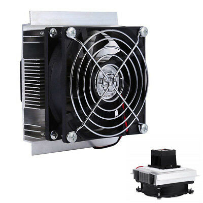 Car Refrigeration Cooling System Kit Cooler Fan Finished Kit Computer Components
