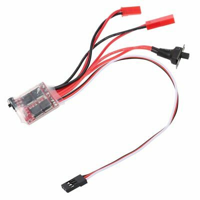 Brushed Bürste Fahrregler Speed Controller 30A ESC für RC Car Auto Buggy Boot DE