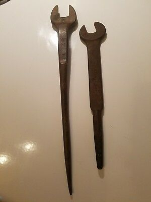 2 Vintage spud wrenches Billings Unknown