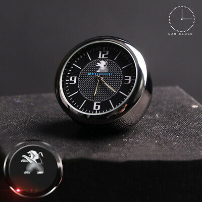 Antique Vintage Car Electric Analog Quartz Clock Interior Ornaments For Peugeot