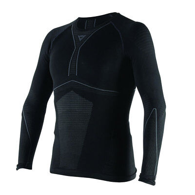 Dainese D-Core Dry Long Sleeved T-Shirt - Blk/Ant - XL/XXL