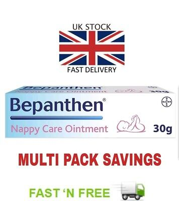 Bepanthen 30g Nappy care ointment Easy to use tube multi savings baby care rash