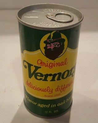 RARE 1970 Vernors Ginger Ale  Air NEVER-FILLED Can