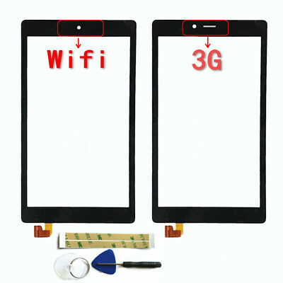 BLACK TOUCH SCREEN Digitizer Glass+Frame for Alcatel One