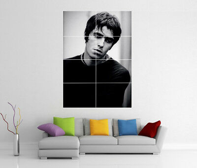 Liam Gallagher Oasis Giant Wall Art Print Bb5 Photo Poster