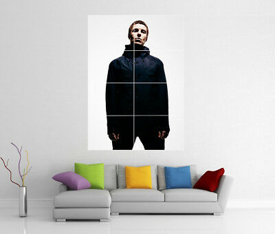 Liam Gallagher Oasis Giant Wall Art Print Cc1 Photo Poster