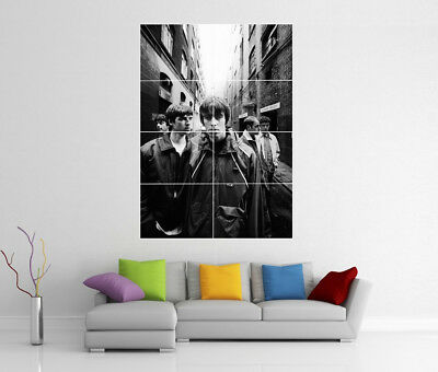 Oasis Liam & Noel Gallagher Giant Wall Art Cc4 Print Poster
