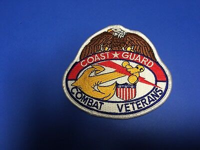 Us Coast Guard Combat Veterans Patch