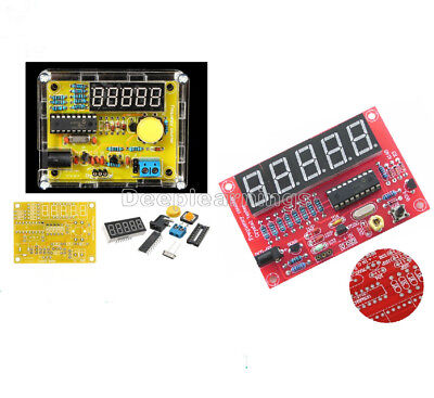 50 MHz Crystal Oscillator Frequency counter Testers DIY Kit 5 Resolution T9J2
