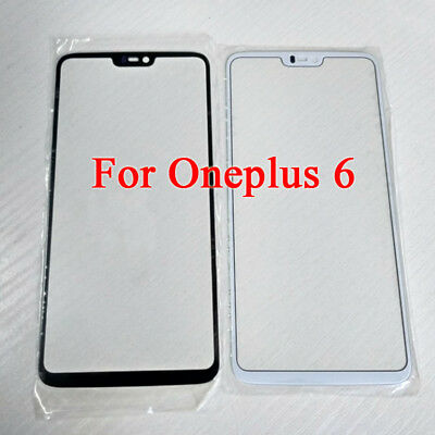 For Oneplus 6 One Plus 6 1+6 Replacement Part Outer Screen Lens Glass + tool