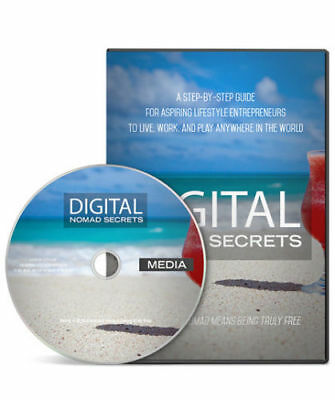 Digital Nomad Secrets Gold Step-By-Step Video Tutorials! resell rights!