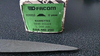 FACOM lime barrette demi douce L 200 mm BAR-MD 200