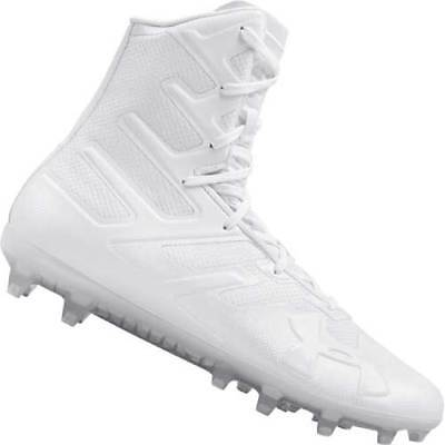 Under Armour Men's UA Highlight MC Football Lacrosse Cleats Shoes 3000177 White