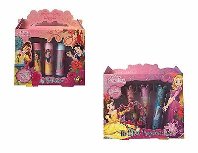 Principesse Disney Bambini Burro Cacao / Roll On Fragranza Trio Regalo Set